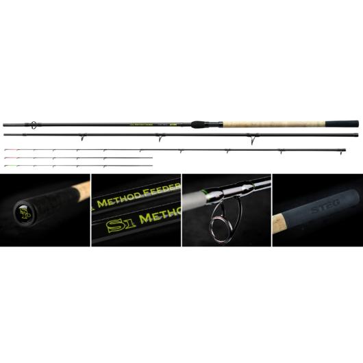 Stég S1 Method Feeder 13' 3,90m H 110gr